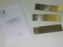 Комплект стандартных образцов предприятия для магнитопорошковой дефектоскопии по ГОСТ 21105-87 (на уровень А, уровень Б, уровень В)